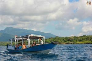 Perjalanan menuju Pulau Menjangan