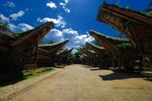 Kete Kesu sebuah desa tradisional suku Toraja
